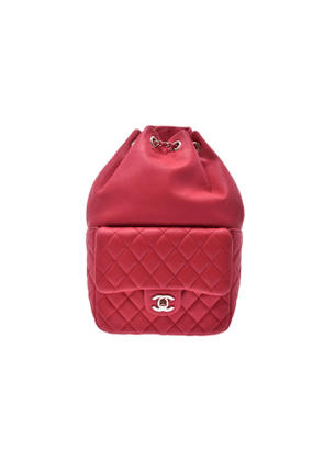 Chanel timeless/classique pink leather backpacks