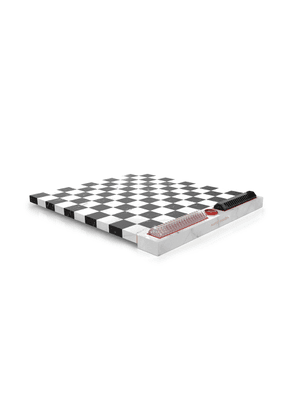 Baccarat Marble And Crystal Checkers Set by Marcel Wanders