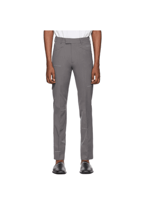 Off-White Grey Ex President Trousers