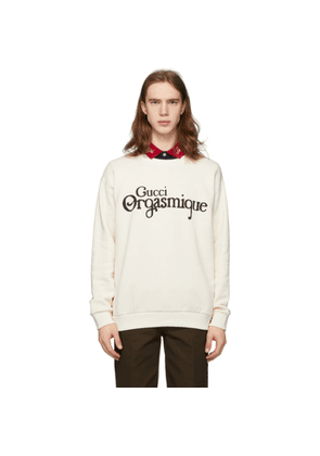 Gucci Off-White Gucci Orgasmique Sweatshirt