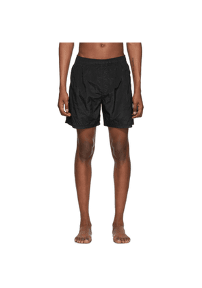 Stone Island Black Nylon Swim Shorts