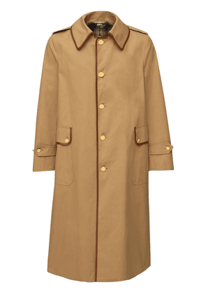 Light Cotton Drill Trench Coat