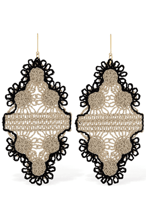 Lvr Sustainable Cotton Thread Earrings