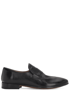 20mm Leather Loafers