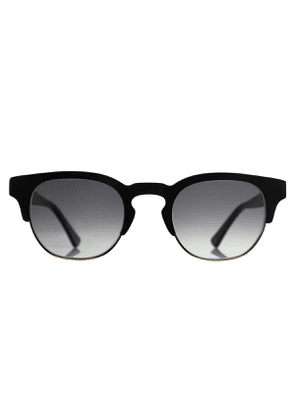 Piano Black Natural Cellulose Ronnie Sunglasses
