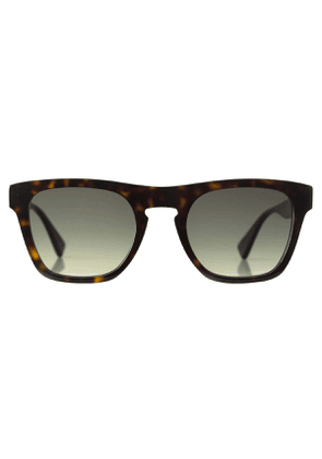 Dark Brown Tortoiseshell Acetate Charlie Sunglasses