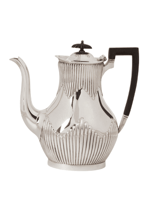 Vintage Silver-Plated Early Twentieth-Century Teapot