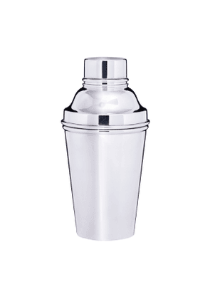Vintage Silver-Plated Panelled Cocktail Shaker