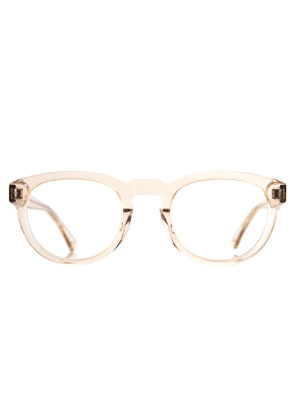 Champagne Gold Natural Cellulose Freddie Optical Frames