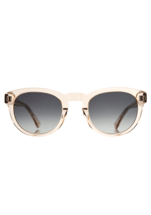 Champagne Gold Natural Cellulose Freddie Sunglasses