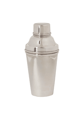 Vintage Silver-Plated Pro Cocktail Shaker