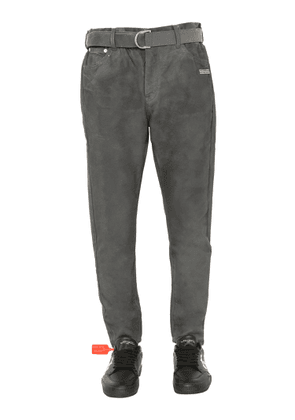 off-white 'slim low crotch' jeans