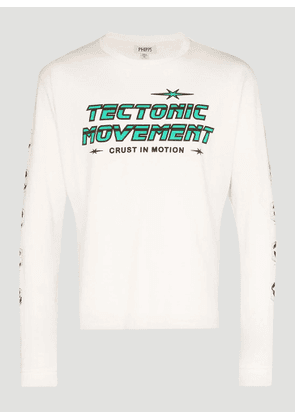 Phipps Tectonic T-Shirt in White size M