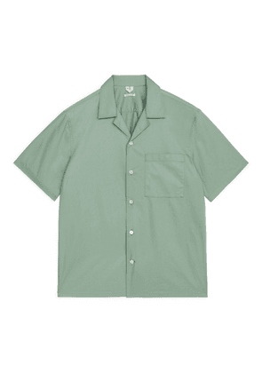 Poplin Resort Shirt - Green