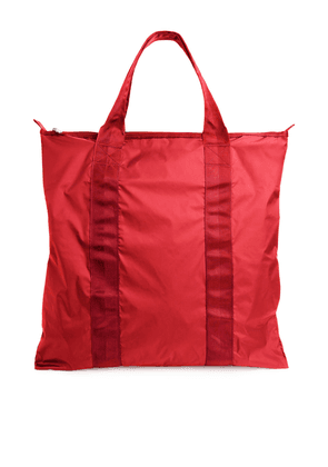 Packable Tote - Red