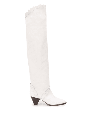 Isabel Marant over-the-knee boots - White