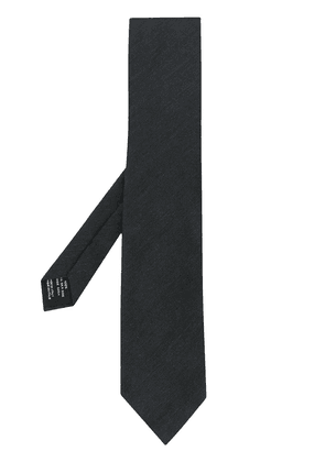 Tom Ford parallel twill tie - Black