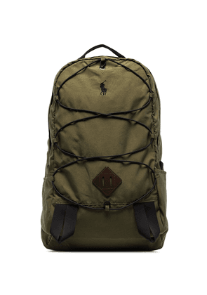 Polo Ralph Lauren Mountain logo-embroidered backpack - Green