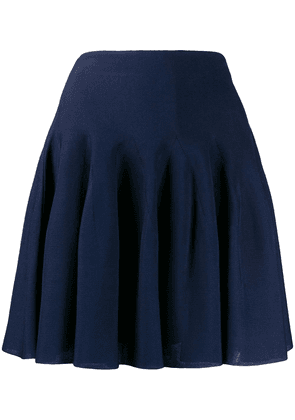 Givenchy pleated high-rise mini skirt - Blue