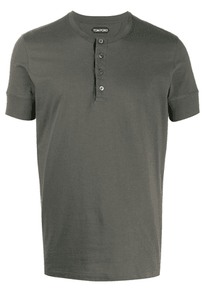 Tom Ford henley T-shirt - Green