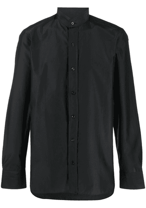 Tom Ford high collar shirt - Blue