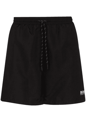 HUGO Starfish drawstring swim shorts - Black
