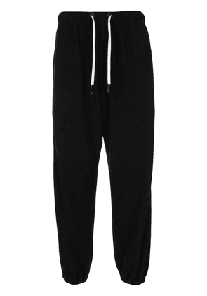 Natasha Zinko x Duo cotton jogging pants - Black