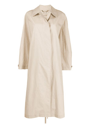 Stella McCartney single-breasted trench coat - NEUTRALS