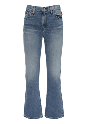 Joni Mid Rise Cotton Denim Jeans