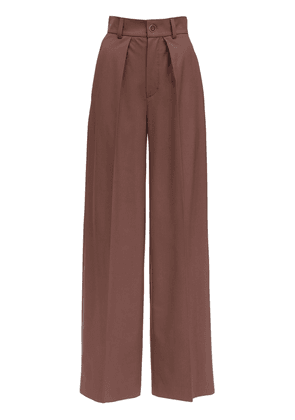 Cool Wool Straight Pants