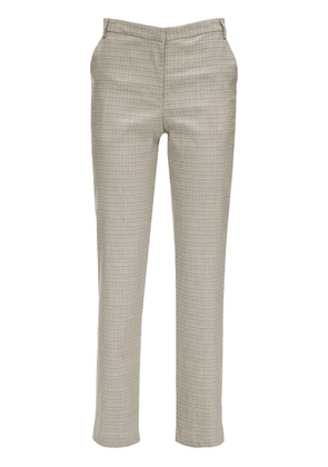 Cape Cotton Blend Straight Pants
