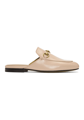 Gucci Pink Princetown Slippers