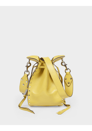 Radja Bag in Light Yellow Leather