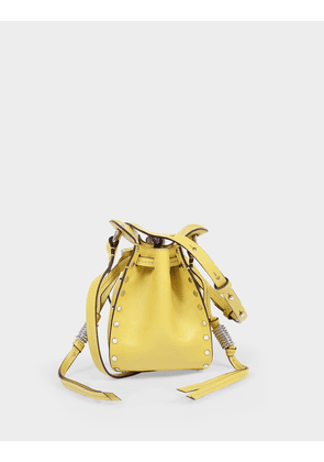 Radji Bag in Light Yellow Leather