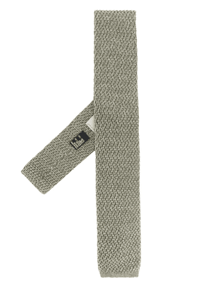 Canali knitted short scarf - Green