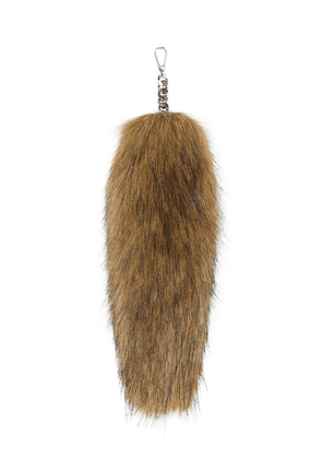 Burberry Faux Fur Tail Charm - Brown