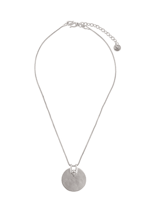 Goossens Boucle medal necklace - Metallic