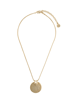 Goossens Boucle medal necklace - GOLD