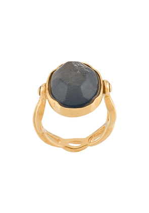 Goossens Cabochons oval ring - GOLD