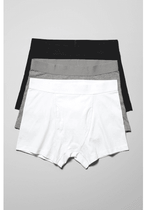 Johnny Boxers 3-Pack - Grey