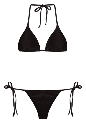 Brigitte 3 pieces bikini set - Black