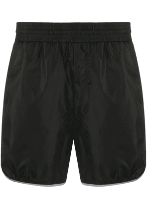 Gucci Interlocking G stripe swim shorts - Black
