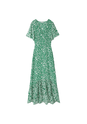 Sage Dress - Blossom Green