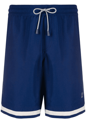 Brunello Cucinelli drawstring swim shorts - Blue