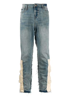 VAL KRISTOPHER zipped pocket jeans - Blue