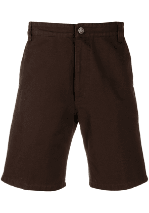 Acne Studios classic above-the-knee shorts - Brown