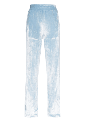 Palm Angels Chenille tracksuit trousers - Blue