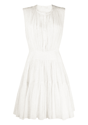 Chloé sleeveless short dress - White