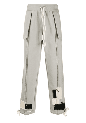 VAL KRISTOPHER 0008 Issue Logo sweatpants - Grey