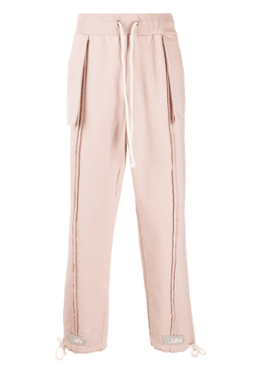 VAL KRISTOPHER 0008 Issue Logo sweatpants - PINK